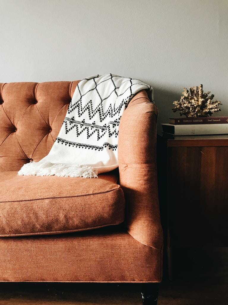 how to clean a fabric sofa